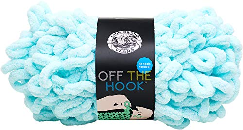 Lion Brand Yarn 516-102 Off The Hook Yarn Sea Foam