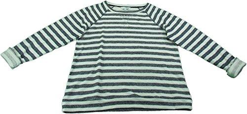 Ellen Tracy Company Ladies XL Embellished Sweatshirt Navy Stripe