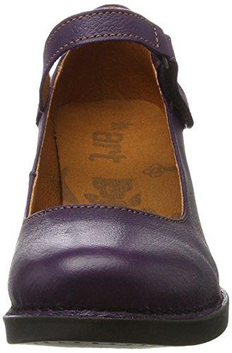 Cerise Memphis Tacco 933 933 Viola Scarpe black Donna con Art wfFY06xq