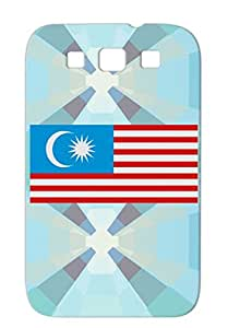 TPU Silver Flag Of Malaysia For Sumsang Galaxy S3 Malaysian Countries Flags Flag Cities Asian Asia Flags Case Cover
