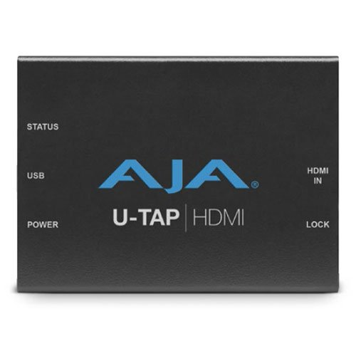 AJA U-TAP HDMI Simple USB 3.0 Powered HDMI Capture