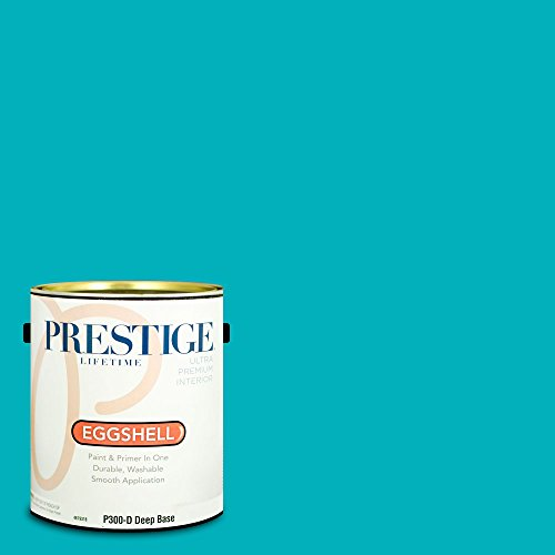 - Prestige Paints P300-D-SW6950 Interior Paint and Primer in One, 1-Gallon, Eggshell, Comparable Match of Sherwin Williams Calypso, 1 Gallon, SW149-Calypso
