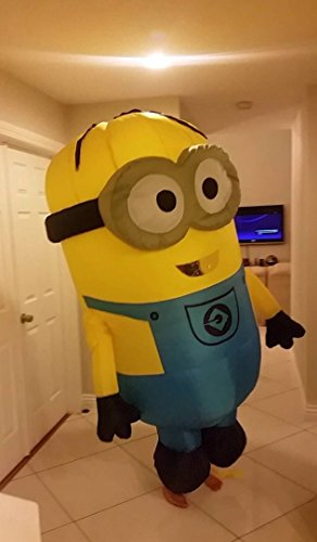 [Kooy Minion Inflatable Costume Cosplay Halloween] (Adult Minions Costumes)