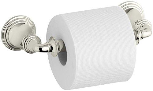 KOHLER K-10554-SN Devonshire Toilet Tissue Holder, Vibrant Polished (Devonshire Toilet)
