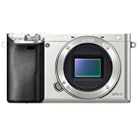 Sony Alpha a6000 Mirrorless Digital Camera - Body only (Silver)