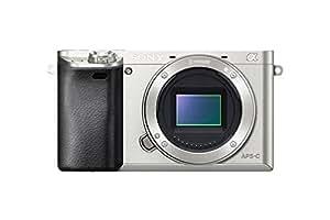 Sony Alpha a6000 Mirrorless Digital Camera - Body only (Silver)