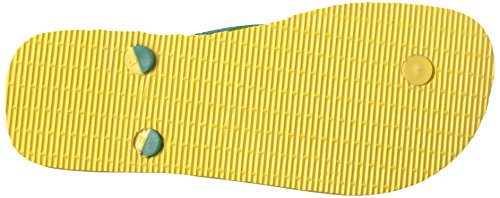 Pictures of Havaianas Teams Iii-Brazil Sandal Yellow/Green 9.5 M US 6