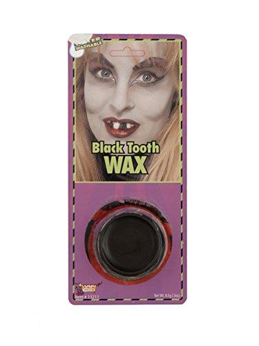 Halloween Lady Pirate Makeup (Forum Novelties 13211 Unisex-Adults Makeup Tooth, Black, Standard,)
