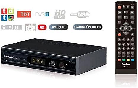 E-NUC Receptor TDT HD RDT-896 Fonestar: Amazon.es: Electrónica
