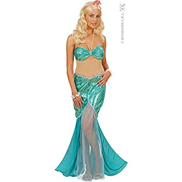 WIDMANN Desconocido Disfraz de Sirena Verde: Amazon.es: Juguetes y ...