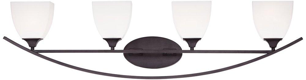 Jenisen Arch 40 3/4'' Wide Bronze Bathroom Light
