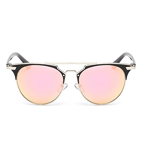My.Monkey Womens Fashion Polarized Gradient Lens Colorful Warfarer - Sunglasses Jackie O History