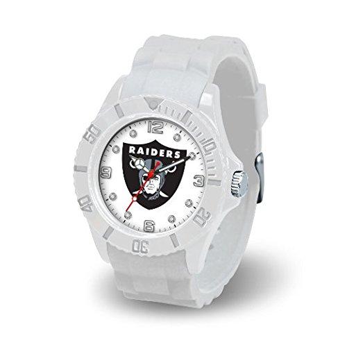 Rico Industries NFL Oakland Raiders Women's Cloud Watch