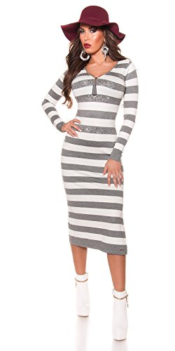 In-Stylefashion - Vestido - para mujer gris