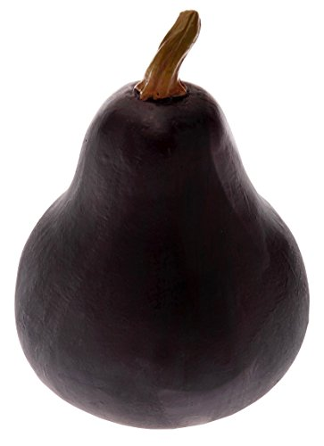Glass Gourd Figurine (Boston International Gourd Decorative Table Accent, Dark)
