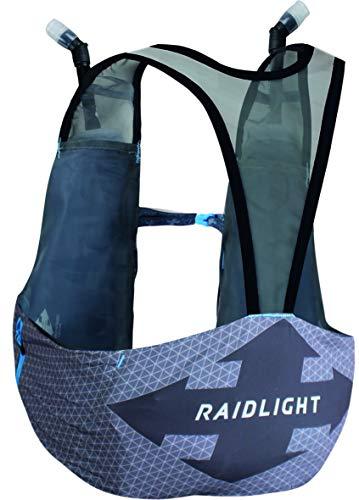 RaidLight Unisex Revolutiv Vest 3L (Made in France), Dark Grey/Light Grey, Large
