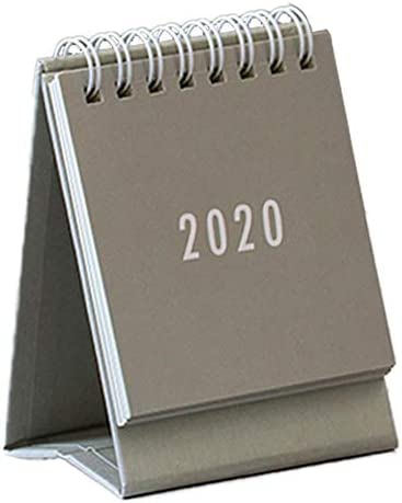 Wintesty 2020 Simplicity Coil Tischkalender Mini Innovative Flip Calendar Tischdekorativer Kalender kind