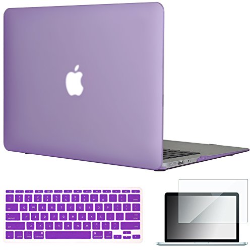 Case Hardshell Frosted - Easygoby 11-Inch 3 in 1 Rubberized Frosted Hardshell Case Cover for MacBook Air 11.6