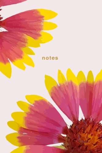 Notes: Giant Flower Notebook: 175-Page Wide-Ruled Flower Notebook (Beautiful Journals) (Volume 1)