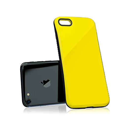Nicexx [2018 updated] iPhone 7/iPhone 8 Case Premium Luxury Design with Slim Reinforced Drop Protection [10ft. Grade Drop Tested], for Apple iPhone 7/iPhone 8 - Yellow by Nicexx