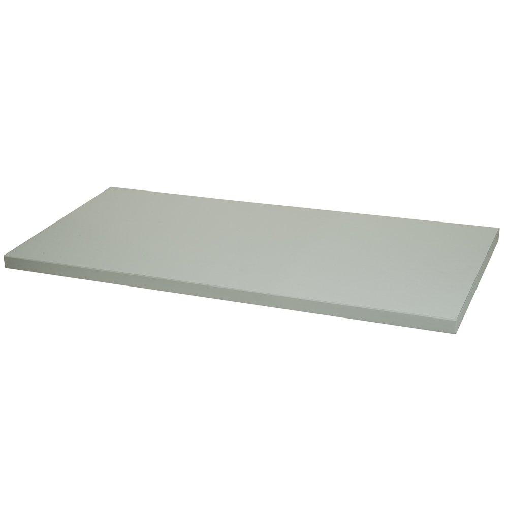 Econoco PCommercial Melamine Shelf, 12'' x 24'' (Pack of 8)