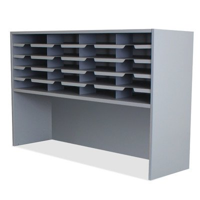 Mailroom 20 Pocket Sorter/Riser Finish: Slate Gray by Marvel Office Furniture