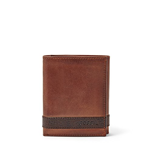 Fossil Quinn Trifold Wallet Brown ML3645