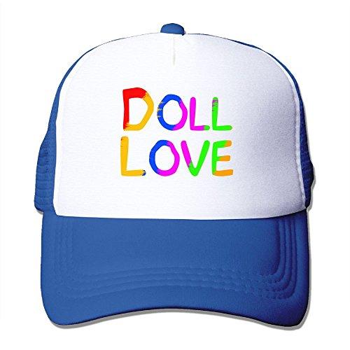 17 Inch Classic Doll Fashions - Doll Love Colortone Women's Fashion Mesh Cap Classic Trucker Hat