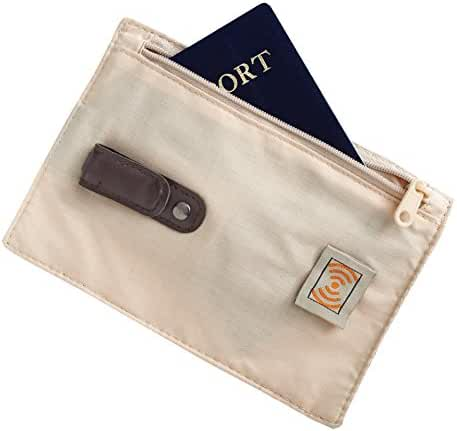 Smooth Trip RFID Blocking Security Belt Wallet Pouch