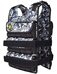 K2Elite Weighted Vest Long Style for Men 0lbs~90lbs Adjustable Cross-fit Training Workout Camouflage