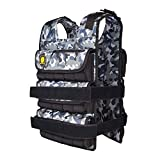 K2Elite Weighted Vest Long Style for Men 0lbs Adjustable Cross Training Workout Camouflage (Camouflage, 0lb)