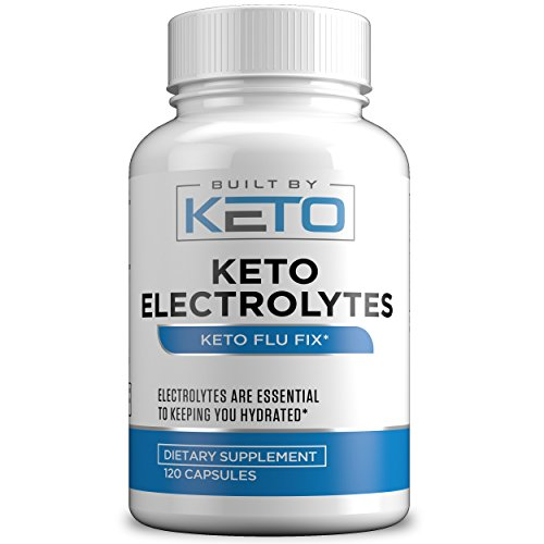 Keto Electrolyte Supplement - 120 Count - Electrolyte Pills
