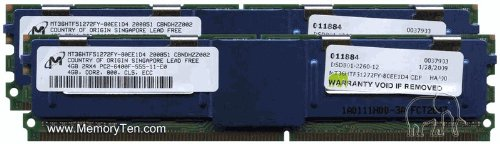 8GB (2x4GB) Apple Xserve DDR2-800 PC2-6400 FB-DIMM ECC Memory Kit (p/n MB092G-A)