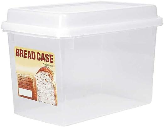 favourall Caja para Pan, Recipiente para Alimentos de Gran ...