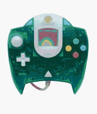 Dreamcast Control Pad: Green
