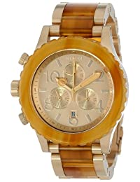 Nixon The Chrono Men's A037-1423 Champagne Gold Watch