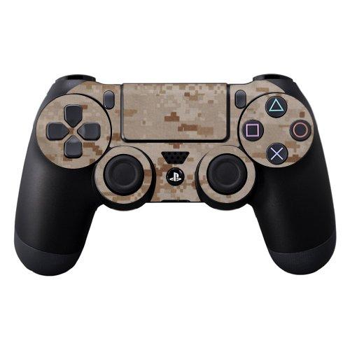 MightySkins Skin Compatible con Sony PS4 Controller - Desert Camo | Cubierta protectora, duradera y exclusiva de vinilo adhesivo | Fácil de aplicar, eliminar y cambiar estilos | Hecho en los Estados Unidos.