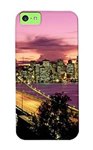 meilinF000New Arrival Premium Iphone 5c Case Cover With Appearance (san Francisco Bay Bridge)meilinF000