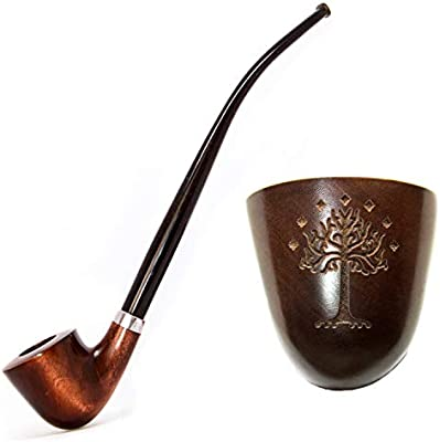 Amazon.com: KAFpipeWorkshop tubo de tabaco Gandalf tubo de ...