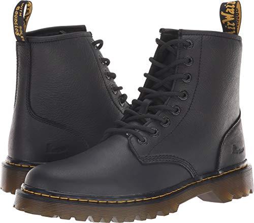 Dr. Martens Mens Awley 8 Eye Boot, Size: 9 D(M) US / 8 F(M) UK, Color: Black Newark (On Sale Dr Martens)