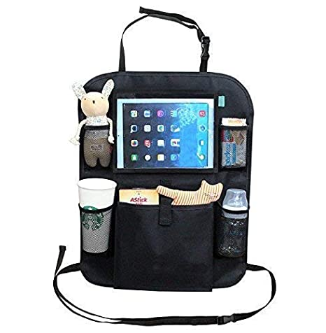 Kid Transit Organizzatore di auto per bambini grigio 12 supporto per tablet