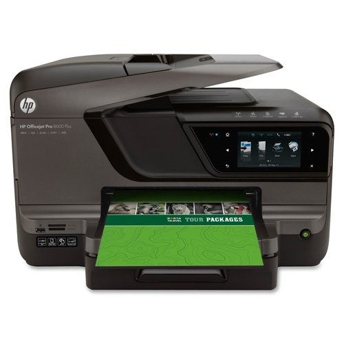 HP Officejet Pro 8600 Plus e-All-in-One Printer-All-in-One Printer, 19.4''x16.3''x12.4'', Black by HEW