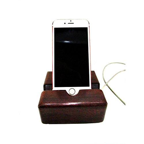Wooddypeople Sheesham Wood Mobile Stand for iPhone