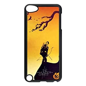 Custom Your Own Unique Movie The Hunger Games Ipod Touch 5th Cover Snap on Hunger Games Ipod 5 Case