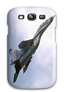 RGIsHVW4692TkRjh Case Cover Mikoyan Gurevich Mig Russia Galaxy S3 Protective Case