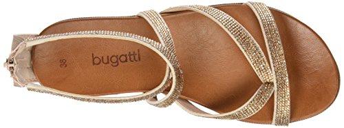 Bugatti V65856n - Sandalias de tobillo Mujer Pink (rosé 350)