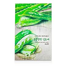 Real Nature Mask Sheet - Aloe - 10x23ml/0.78oz
