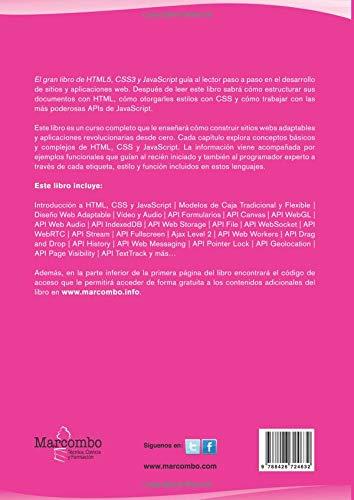 El gran libro de HTML5, CSS3 y JavaScript 3ª Edición: Amazon de