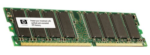 HP/Compaq 335174-001 256MB 333MHz PC-2700 Non-ECC DDR SDRAM DIMM Genuine HP Memory for Desktop PC D530 D320. (Memory Pc Dimm Sdram 2700)