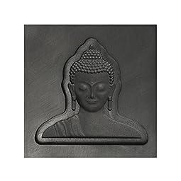 Medium - Buddha Head 3D Graphite Ingot Mold for Precious Metal Casting Gold Silver Copper Melting